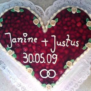 Hochzeitstorten von der Bäckerei Jens Bauer